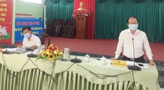 Bình Đại hội nghị trực tuyến phòng chống dịch Covid-19 và hạn mặn