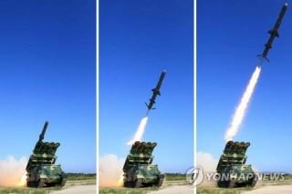 Triều Tiên phóng hàng loạt tên lửa hành trình tầm ngắn