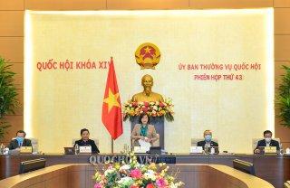 Dự kiến chương trình Phiên họp thứ 44 của Ủy ban Thường vụ Quốc hội