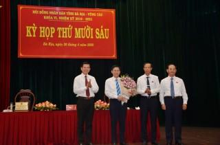 Ông Lê Ngọc Khánh được bầu làm Phó chủ tịch UBND tỉnh Bà Rịa - Vũng Tàu