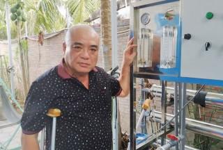Ông Ngô Hồng Dân tích cực tham gia hỗ trợ người nghèo