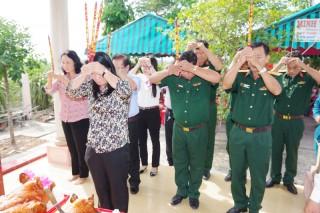 Lễ giỗ lần thứ 52 các chiến sĩ Tiểu đoàn 263