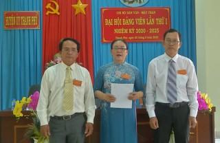 Chi bộ Dân vận - Mặt trận huyện Thạnh Phú tổ chức đại hội