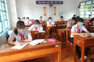 Học sinh đến lớp ổn định, an toàn và nề nếp
