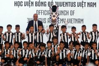 Học viện Juventus Việt Nam sắp trình làng lứa cầu thủ đầu tiên