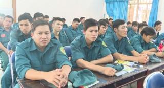 Tập huấn cán bộ ấp đội trưởng, tiểu đội trưởng tại chỗ năm 2020