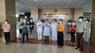 Chiều 11-5-2020, Việt Nam có thêm 8 bệnh nhân COVID-19 được công bố khỏi bệnh