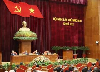 Ngày làm việc thứ ba Hội nghị lần thứ 12 Ban Chấp hành Trung ương Đảng khóa XII