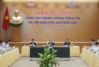 Thủ tướng chủ trì Hội nghị trực tuyến toàn quốc về phòng chống thiên tai