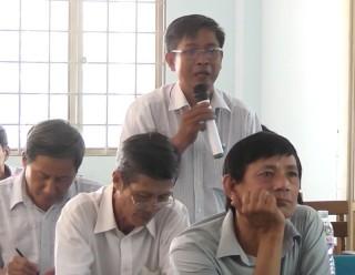 HĐND huyện Giồng Trôm đối thoại trực tiếp nhân dân xã Bình Hòa