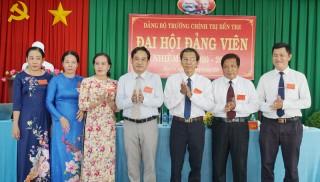 Đại hội Đảng bộ Trường Chính trị Bến Tre thành công tốt đẹp