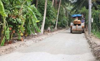 Hưng Khánh Trung A hoàn thiện hạ tầng nông thôn