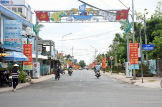 Thị trấn Thạnh Phú phấn đấu đạt chuẩn đô thị loại IV