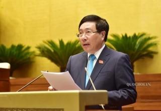 Chính phủ trình Quốc hội dự án Luật Thỏa thuận quốc tế