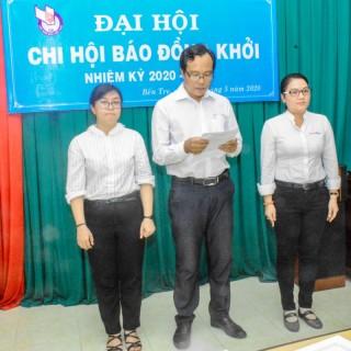 Chi hội Nhà báo Báo Đồng Khởi Đại hội chi hội nhiệm kỳ 2020-2023