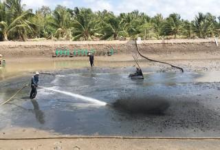 Ngành thủy sản phục hồi sau hạn mặn