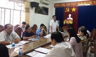 Ủy ban Kiểm tra Tỉnh ủy họp tháng 6-2020