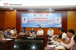Liên đoàn bóng chuyền VN họp báo giới thiệu giải VĐQG PV Gas 2020