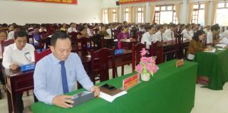 HĐND huyện Giồng Trôm tổ chức kỳ họp lần thứ 15