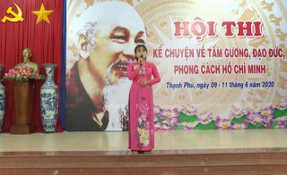 Thạnh Phú tổ chức thi kể chuyện về Bác