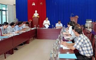 Kiểm tra công tác cải cách hành chính tại Sở Kế hoạch và đầu tư