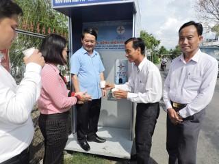 Trung ương MTTQ Việt Nam khảo sát mô hình hạn mặn tại tỉnh Bến Tre