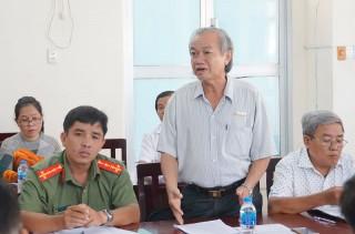 Kiểm tra chuẩn bị lễ kỷ niệm ngày sinh và ngày mất Phan Văn Trị