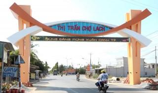 Thị trấn Chợ Lách xây dựng đô thị huyện nông thôn mới