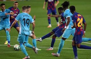 Messi lại lập công, Barca tái lập khoảng cách 5 điểm với Real