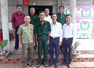 Trao 11 căn nhà Nghĩa tình đồng đội tại Thạnh Phú