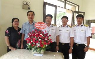 Nhiều cơ quan, đơn vị đến chúc mừng Ngày Báo chí cách mạng Việt Nam