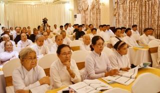 Tập huấn về biến đổi khí hậu cho chức sắc tôn giáo