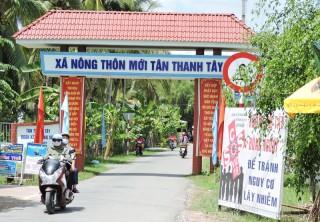 Tân Thanh Tây tập trung xây dựng xã nông thôn mới nâng cao
