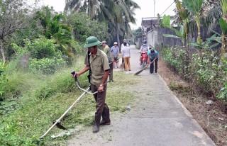 Hội Cựu chiến binh Tân Thạch đóng góp xây dựng quê hương