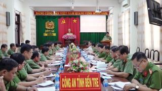 Hội nghị Ban Chấp hành đảng bộ Công an tỉnh lần thứ 20