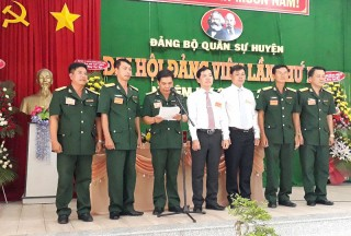 Đảng bộ Quân sự tỉnh hoàn thành đại hội cấp cơ sở