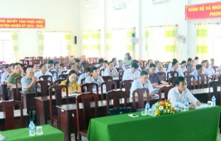 Thạnh Phú tổng kết công tác Đại hội đảng bộ, chi bộ cơ sở nhiệm kỳ 2020 - 2025