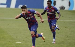 Messi, Suarez tỏa sáng, Barca vẫn khó bắt kịp Real, Atletico củng cố vị trí thứ 3