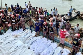 Chìm phà tại Bangladesh, ít nhất 23 người Bangladesh, hàng chục người mất tích