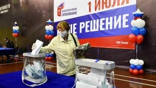Nga mở gần 100.000 điểm bỏ phiếu về sửa đổi Hiến pháp trên cả nước