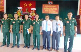 Xây dựng đảng bộ Quân sự huyện Ba Tri trong sạch, vững mạnh