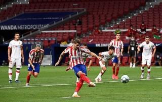 Atletico Madrid giữ vững Top 3