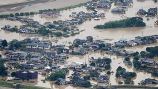 59 người thiệt mạng, hệ thống y tế tê liệt do mưa lũ tại Nhật Bản
