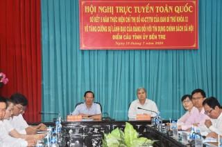 Tăng cường sự lãnh đạo của Đảng đối với tín dụng chính sách xã hội
