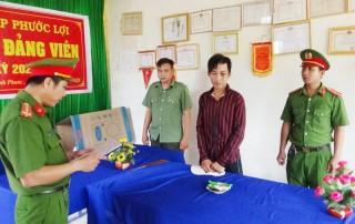 Công an huyện Bình Đại khởi tố đối tượng trộm cắp tài sản