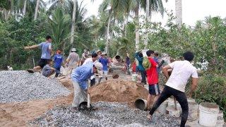 Tuổi trẻ Châu Thành chung sức xây dựng nông thôn mới