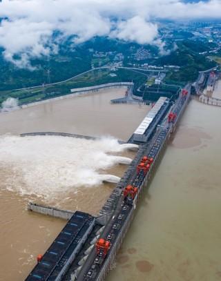 Đập Tam Hiệp đứng trước phép thử lớn với đợt lũ thứ 2 trên sông Dương Tử