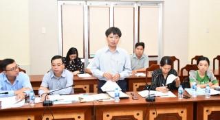 Khảo sát việc triển khai dự án Chỉnh trang khu dân cư đô thị Phú Khương