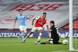 Aubameyang lập cú đúp, Arsenal biến Man City thành cựu vương FA Cup