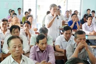 Đại biểu HĐND tỉnh tiếp xúc cử tri sau Kỳ họp thứ 16